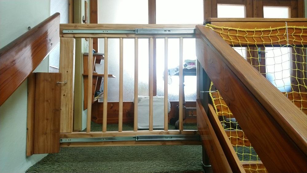 bezpečnostná bránka na schody
