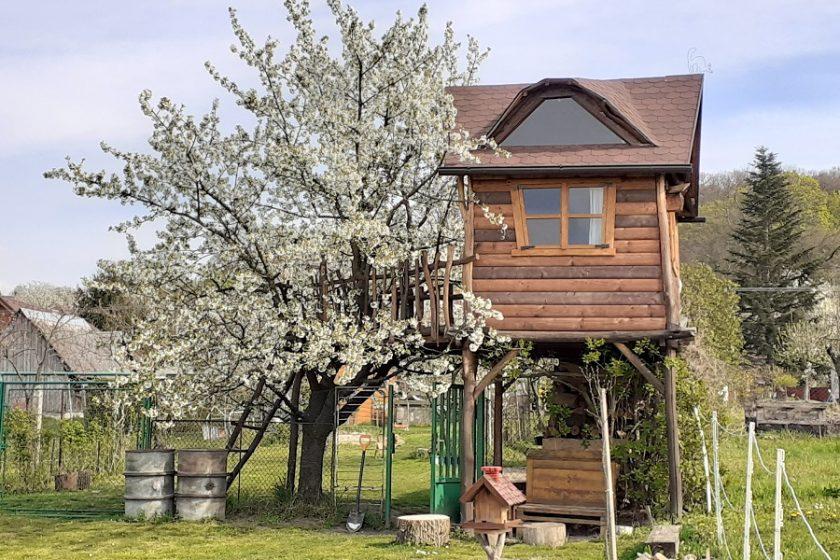 domček na strome