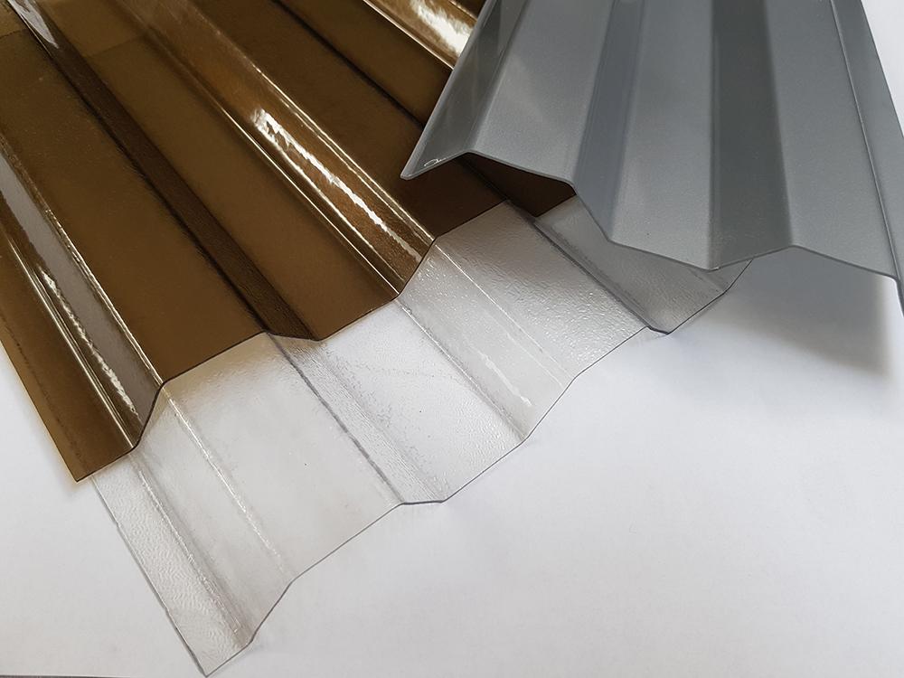 Trapézové polykarbonátové dosky