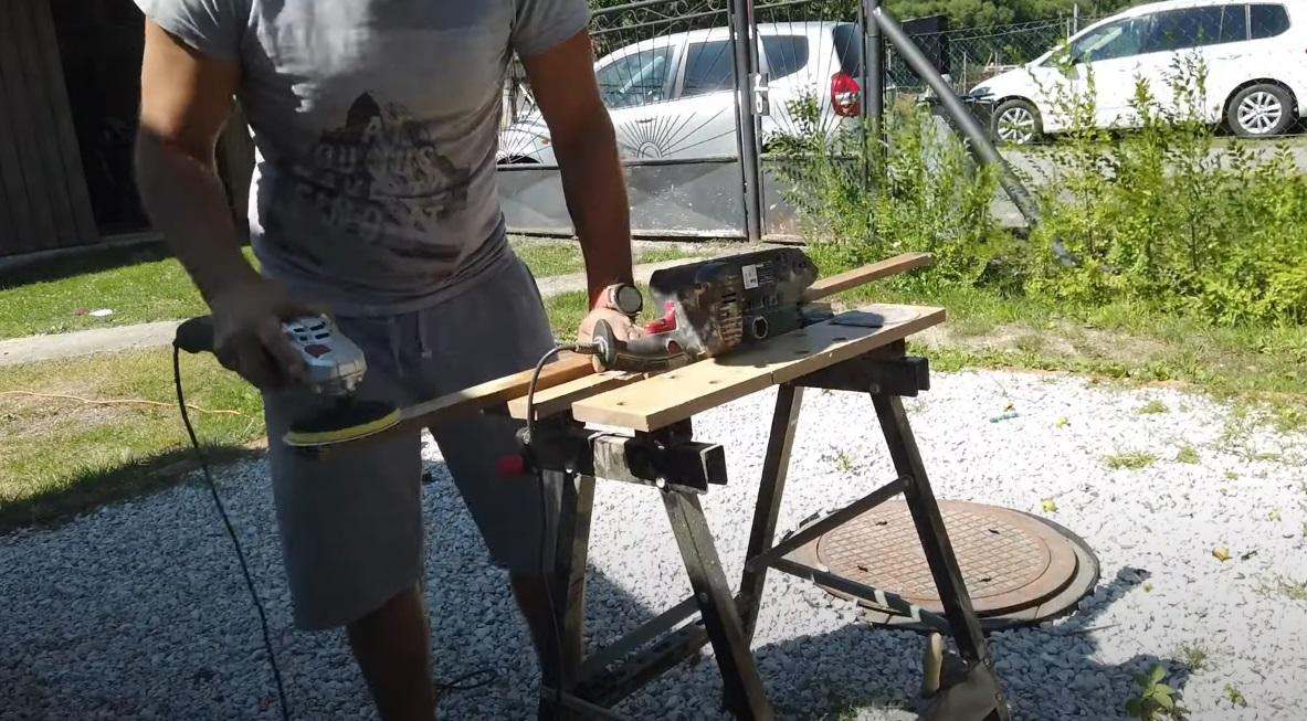 Renovácia záhradnej lavičky