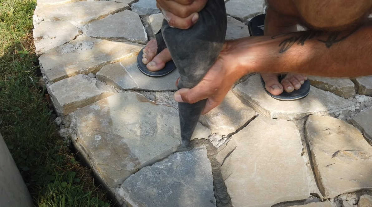 Dláždenie z kameňa