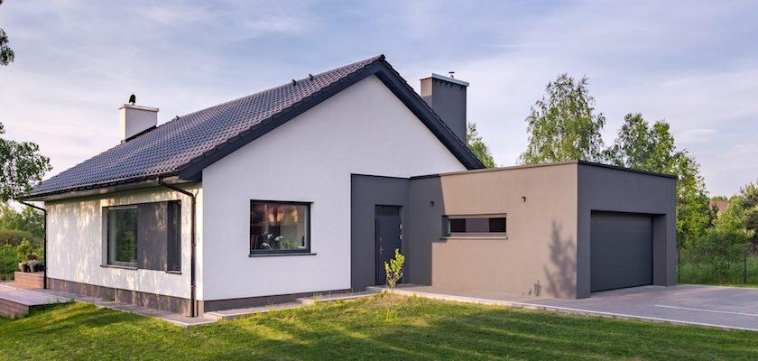 Jednopodlažný rodinný dom s garážou