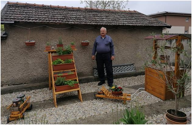 Drevené výrobky do záhrady