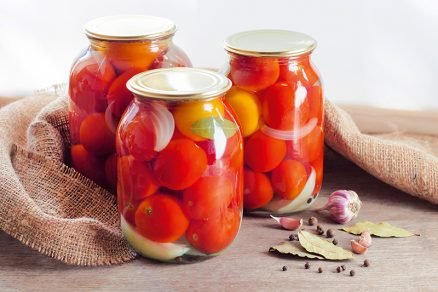 Zavárané rajčiny