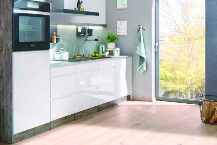 Kuchyňa s novou suchou podlahou