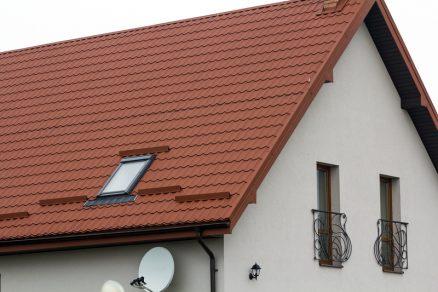Rodinný dom so šikmou strechou