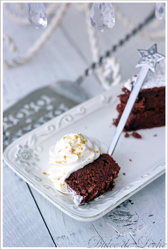 Gaštanovo čokoládová torta
