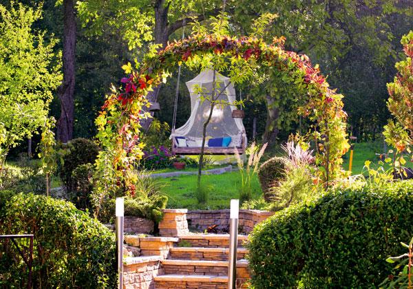 Záhradný oblúk