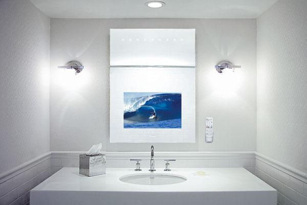 Televízor Mirage Tilevision do kúpeľne