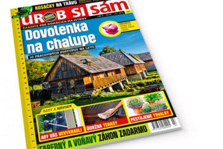 d96ad6b41 Najnovší časopis Urob si sám | Urob si sám