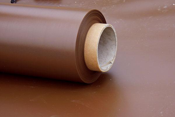 Hydroizolačná fólia zPVC na izoláciu spodnej stavby shrúbkou 1,5 mm