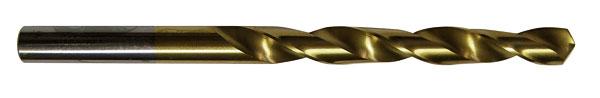 Titánový vrták do ocele je mimoriadne tvrdý.
