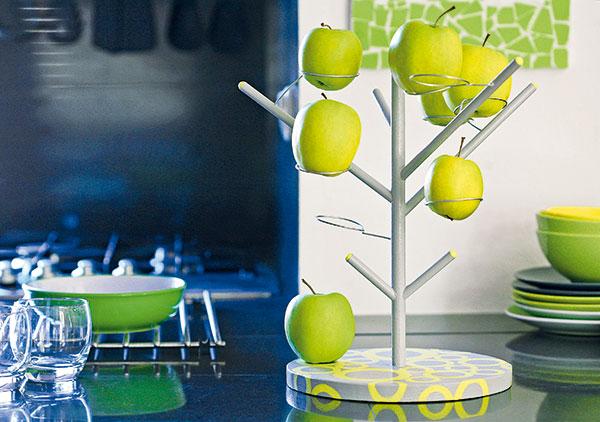 stojan na jablká