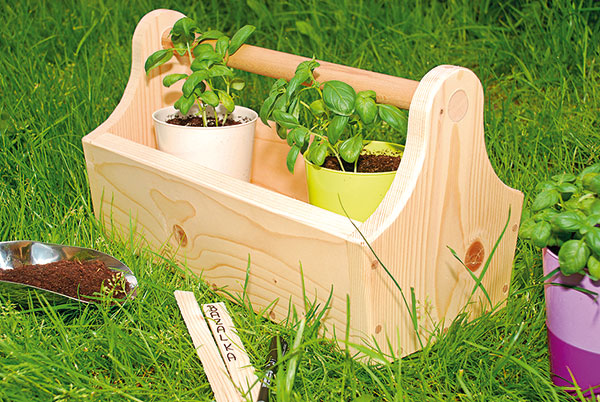 debnička do záhrady