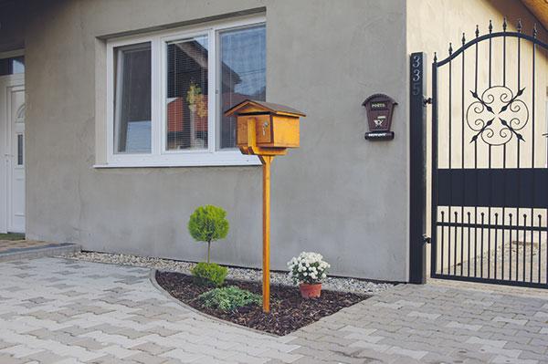 drevená schránka