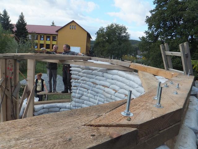 Budovanie krovu