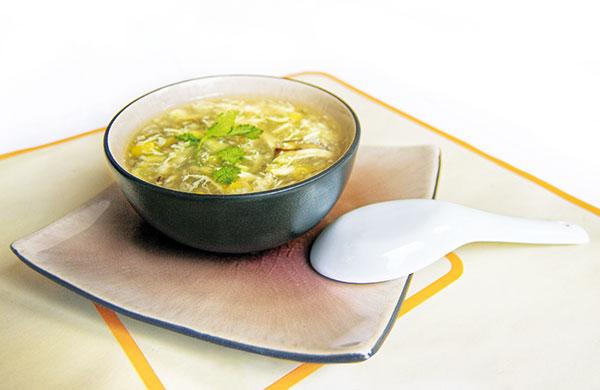 kuracia vietnamská polievka