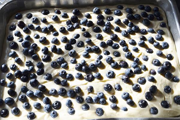 Jemná ovocná bublanina