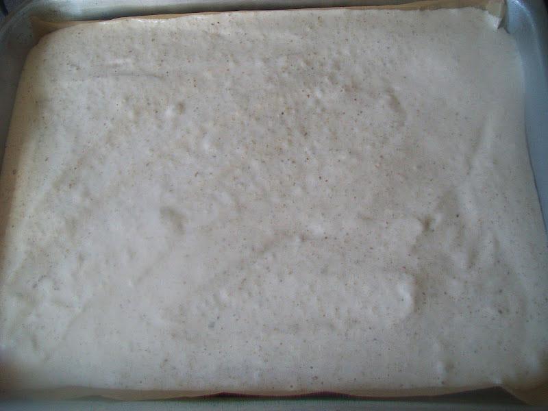 Mandarínkové rezy  s pudingom -  postup