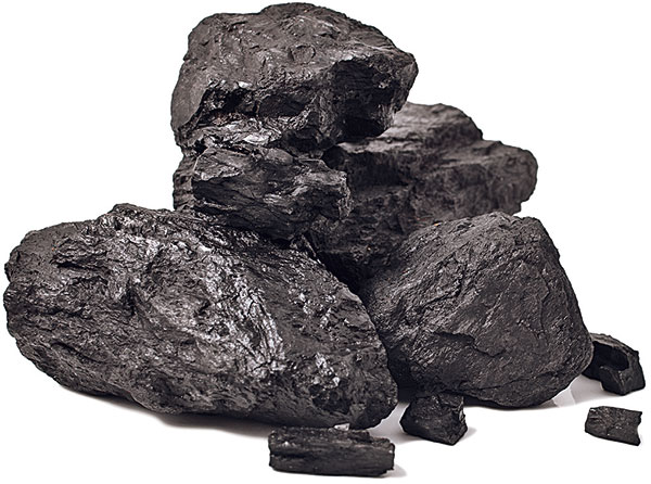 čierne uhlie