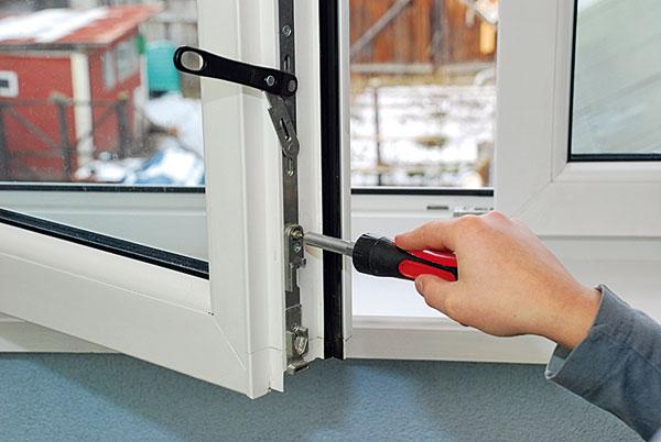 údržba okna