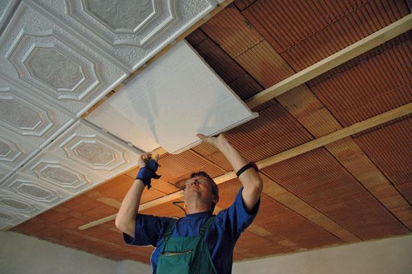 Drevené obklady stropov 2