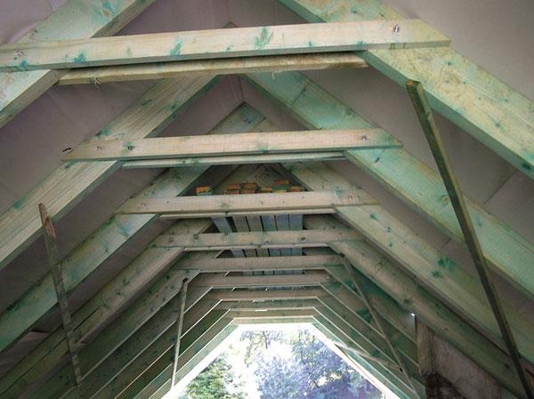 Drevené obklady stropov 3