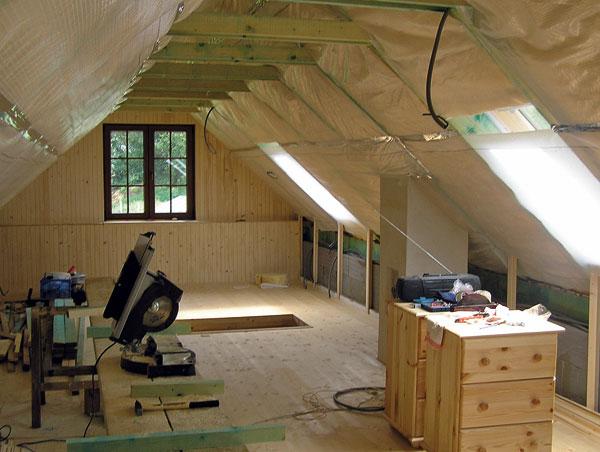 Drevené obklady stropov 5