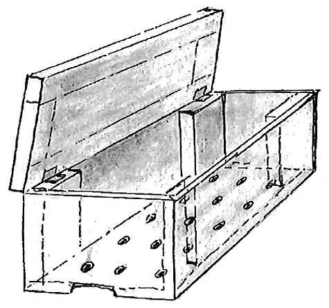 Otvormi na dne nádoby na vermikompost odteká prebytočná voda.