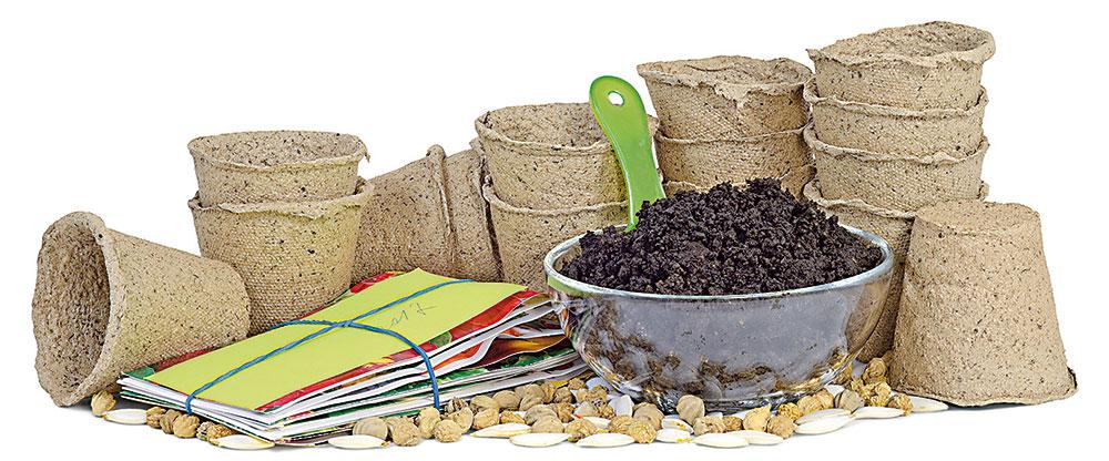 substrát na sadenie