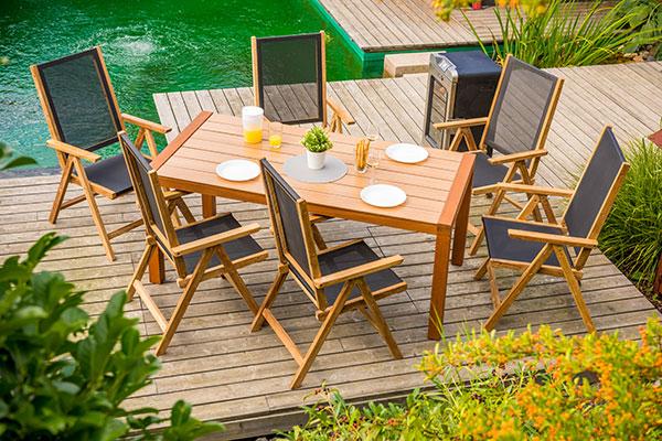 6364ff223f19a Záhradný nábytok pre jarné posedenie na záhradách a terasách | Urob ...