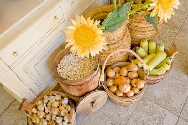 skladovanie zeleniny v zime