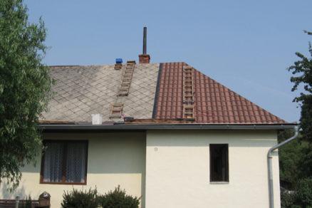 ako jednoducho zrekonstruovat strechu chaty
