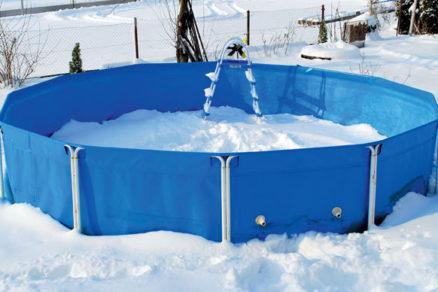 ako pripravit zahradny bazen na prezimovanie