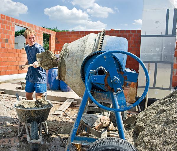 ako rozvrhnut prace na stavbe domu