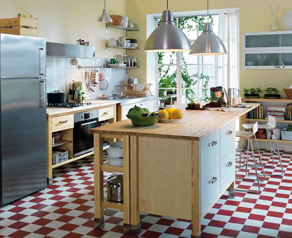 Akú podlahu do kuchyne?