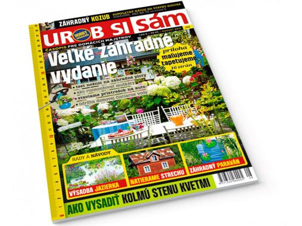 Augustové záhradné vydanie časopisu Urob si sám v predaji!