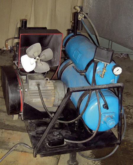 Dielenský kompresor