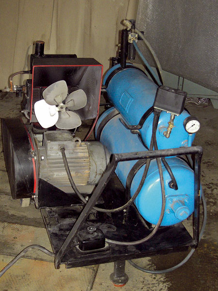 dielensky kompresor