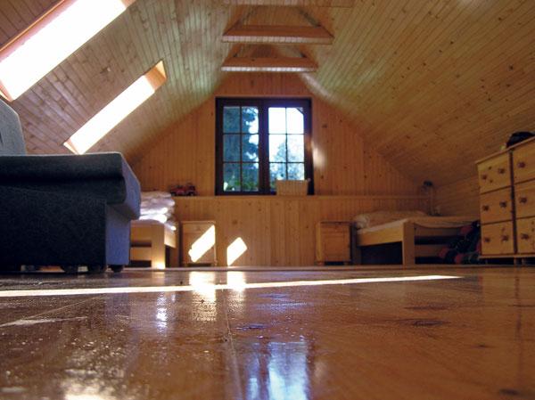 drevene obklady stropov