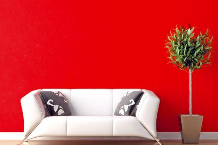 Farby na vymaľovanie interéru