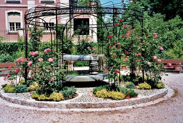 fontany v zahrade