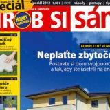 Hobby magazín Urob si sám špeciál 2012 už v predaji