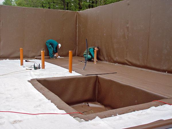Hydroizolačné materiály