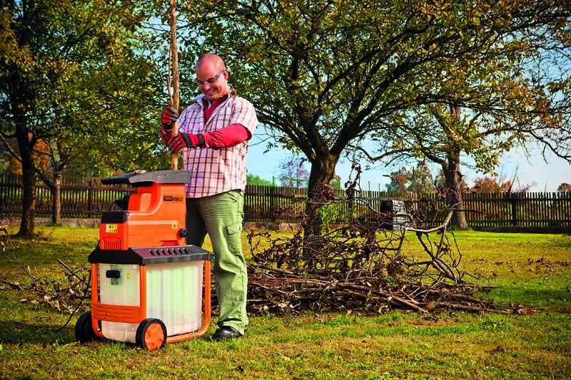 8 + 1 tip: záhradné drviče a štiepkovače