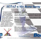 SÚŤAŽ o 10× Bona Spray Mop