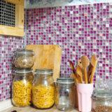 Nový mozaikový obklad urobí z kuchyne inú miestnosť