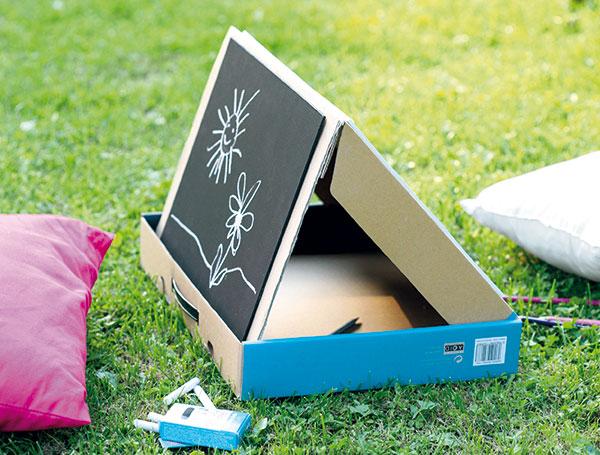 Prenosný kufrík na kreslenie pre deti