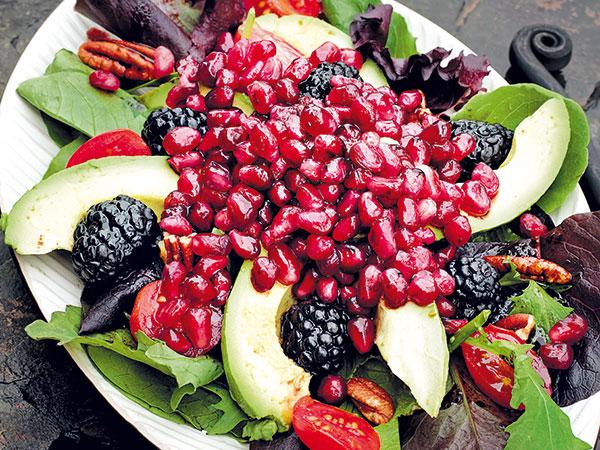 Kráľovský jesenný šalát plný vitamínov