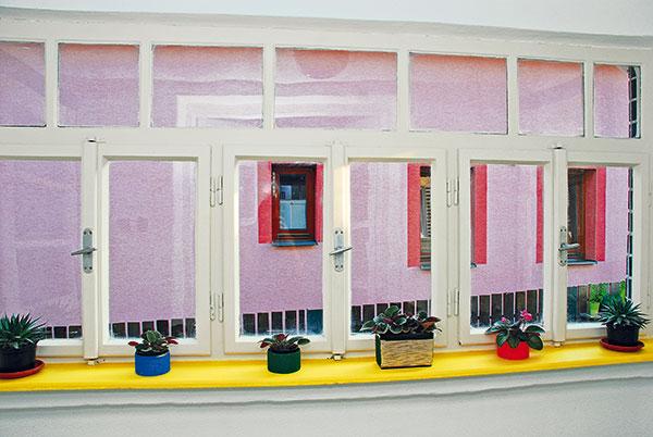 Obnova verandových okienok na chalupe